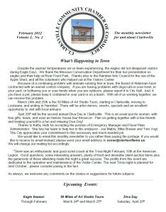 Clarksville MO Community Chamber of Commerce February Newsletter
