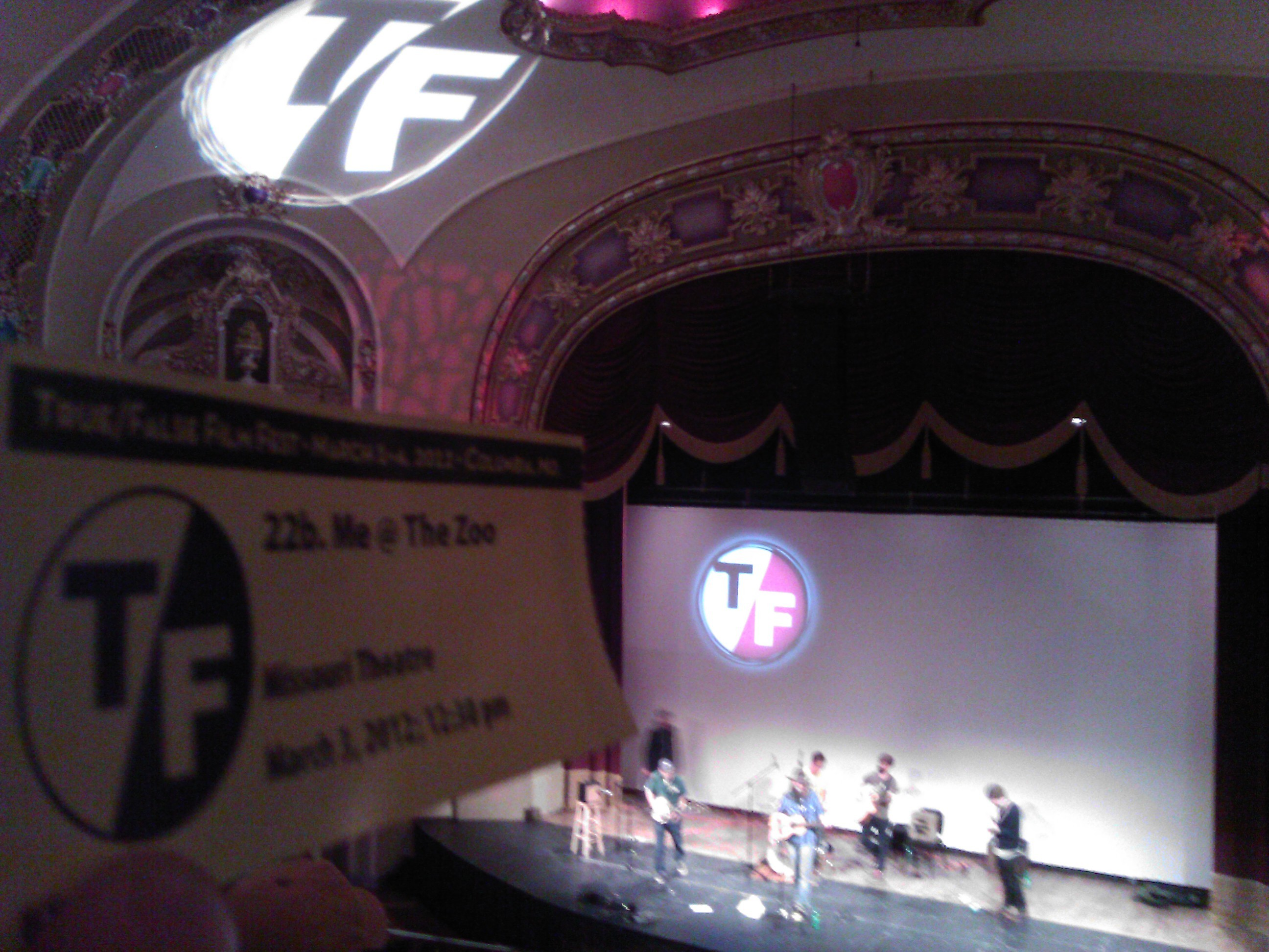 True False Film Festival, Missouri Theater, Columbia Missouri