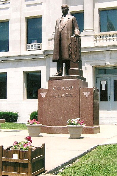 James Beauchamp 'Champ' Clark Statue in Bowling Green Missouri